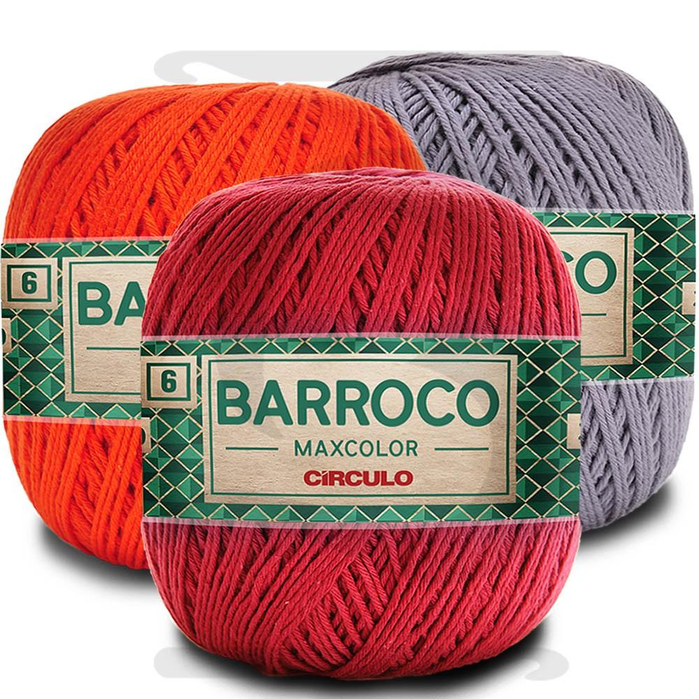 Barbante Barroco MaxColor Nº 6 - 200g