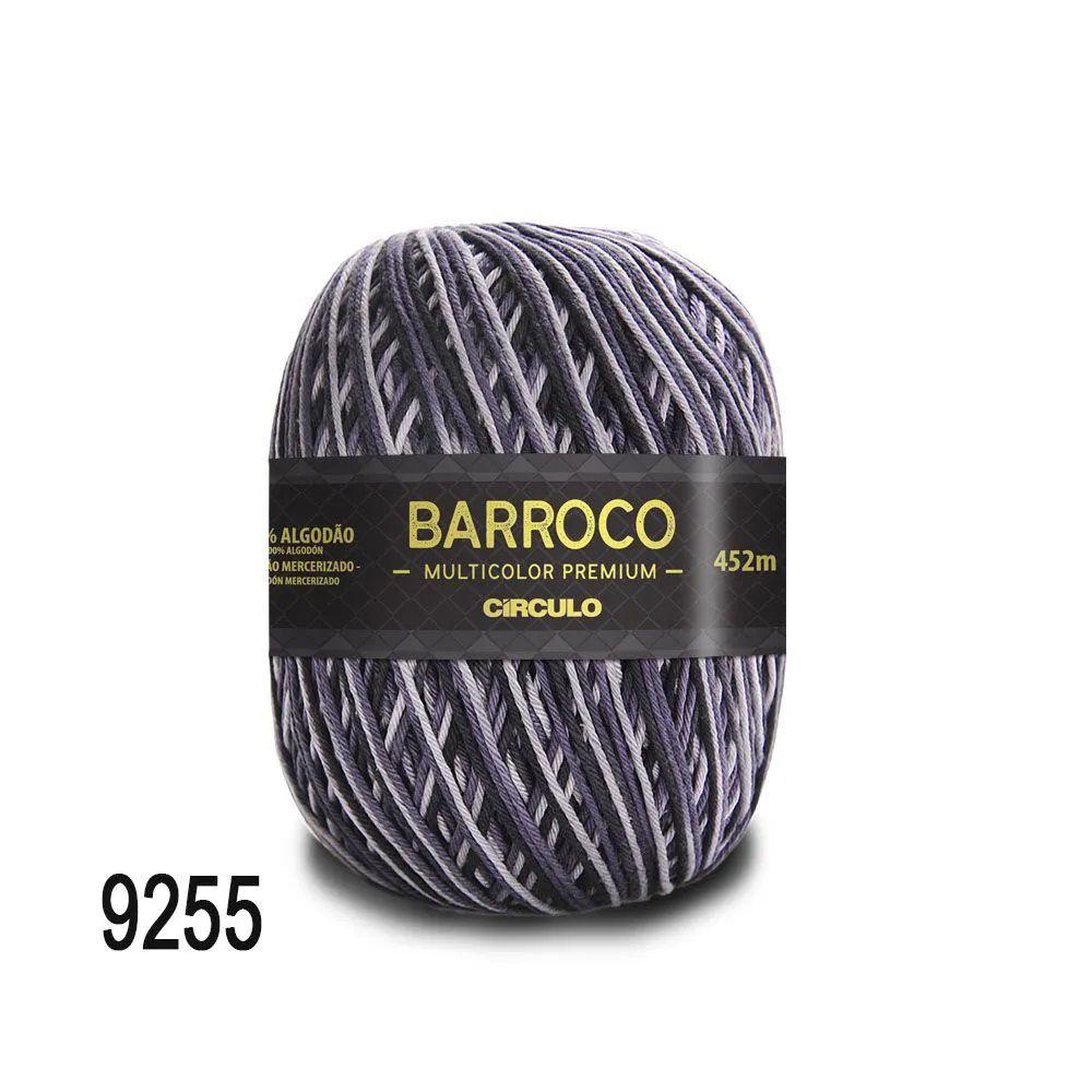Barbante Barroco Multicolor Premium 400g Cor 9255