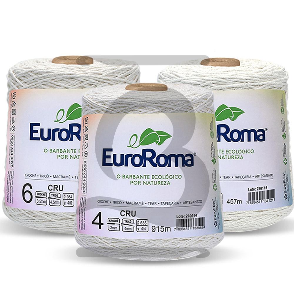Barbante EuroRoma Cru 600g