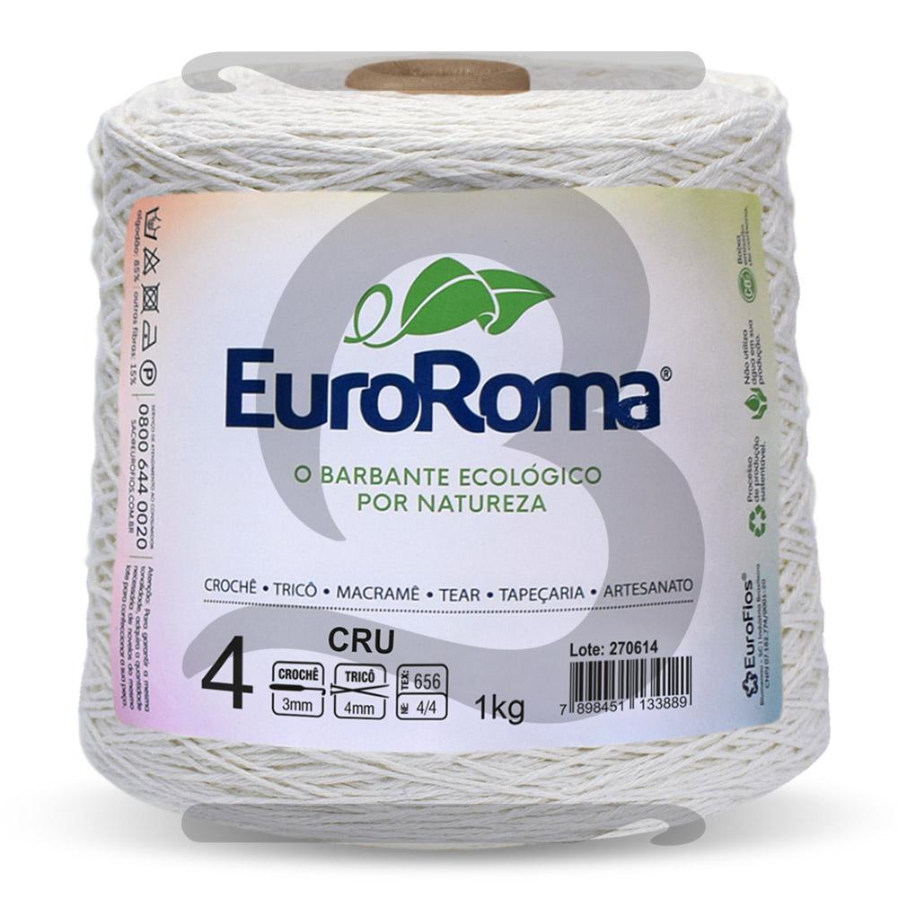 Barbante EuroRoma Cru N° 4 - 1kg