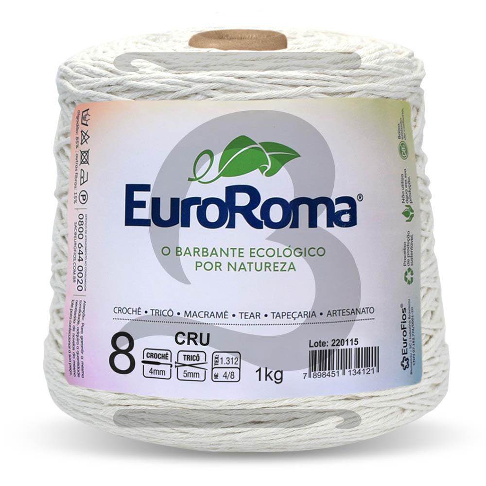 Barbante EuroRoma Cru N° 8 - 1kg