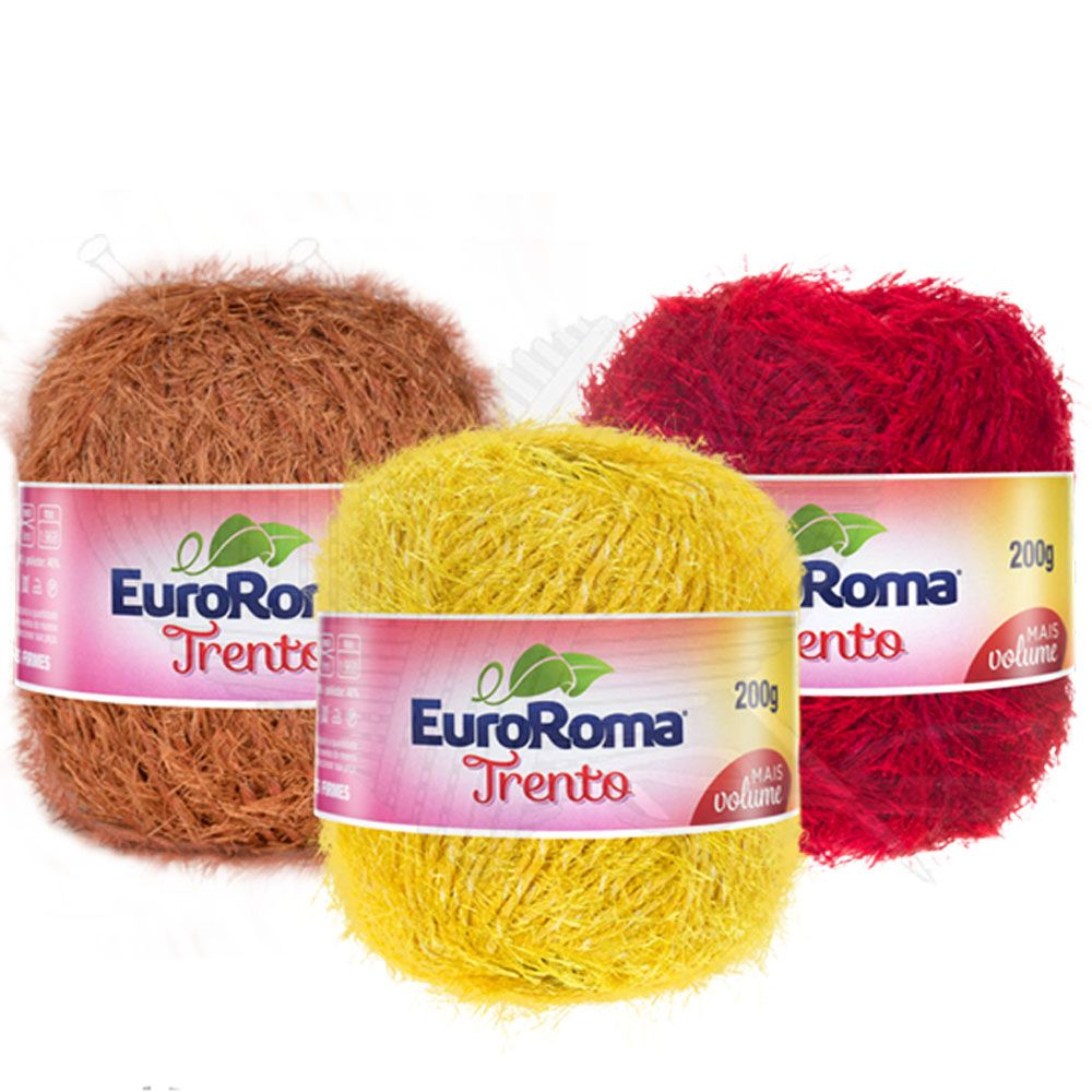 Barbante EuroRoma Trento 200g  - Bastex Artesanatos