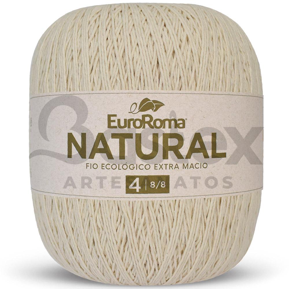 Barbante Natural EuroRoma N°4 - 8/8 - 700g