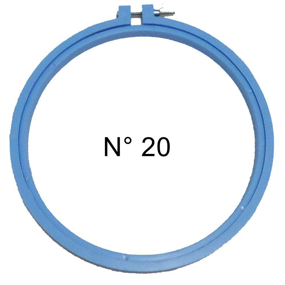 Bastidor de Plástico para Bordar com Regulagem N° 20