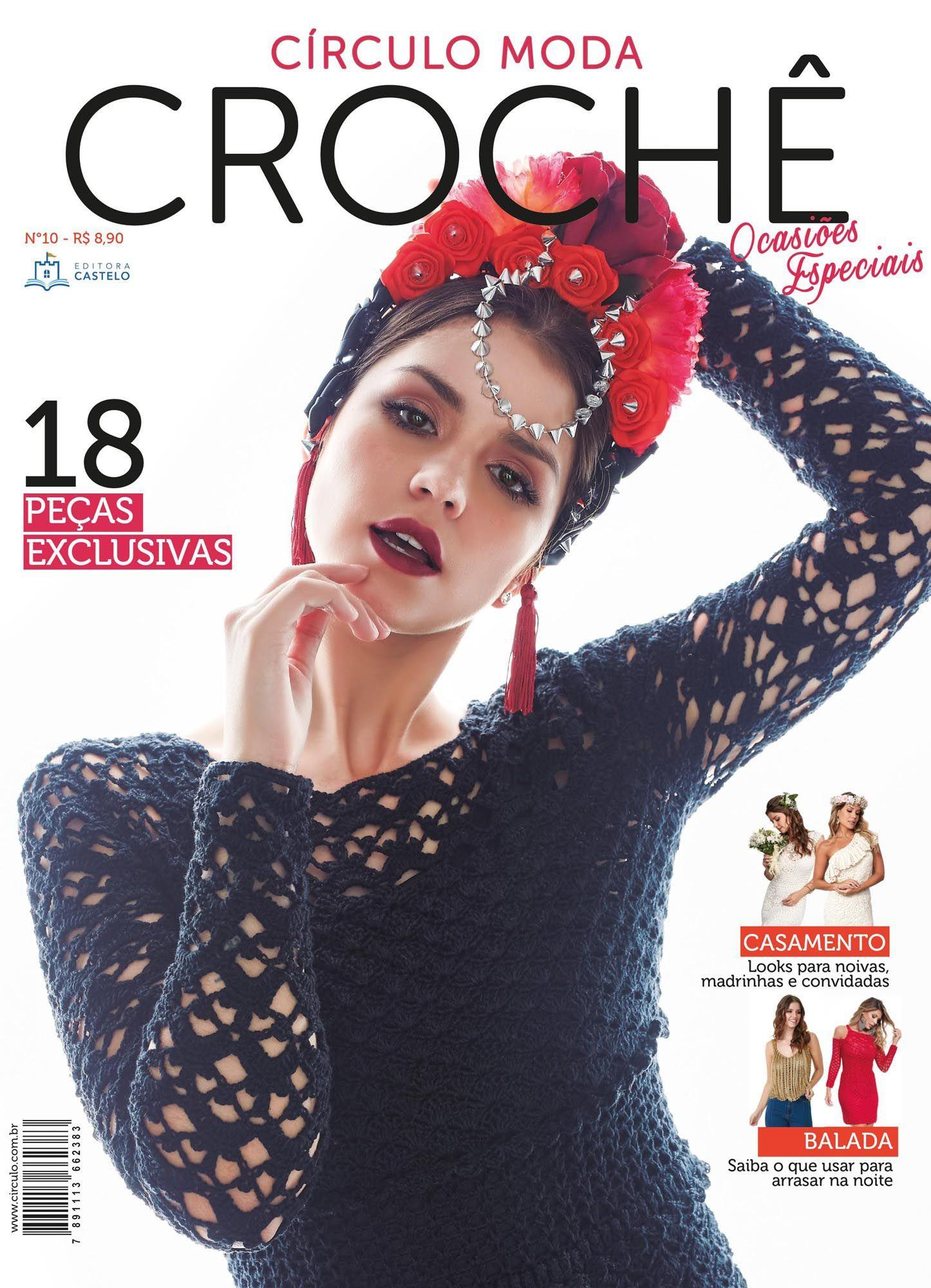 Revista Círculo Moda Crochê Ocasiões Especiais N°10