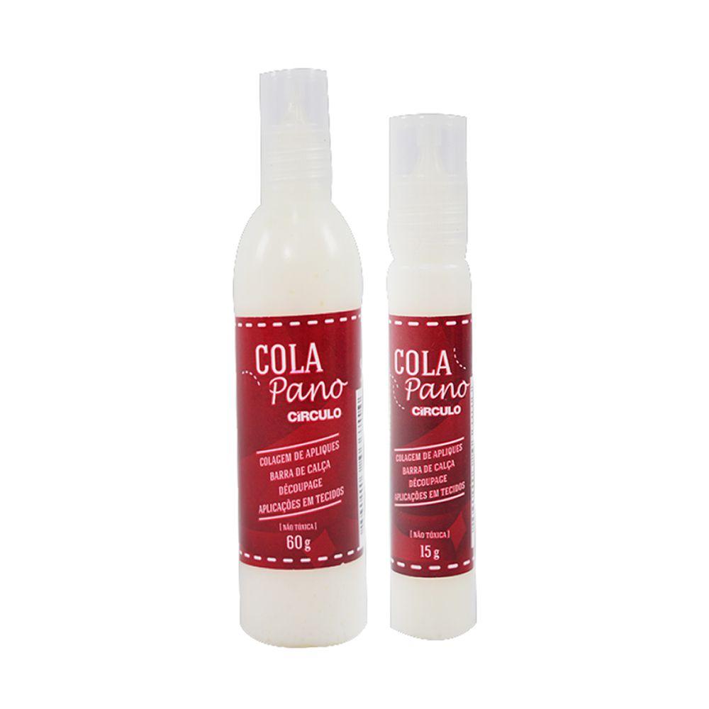 Cola Pano Circulo  - Bastex Artesanatos