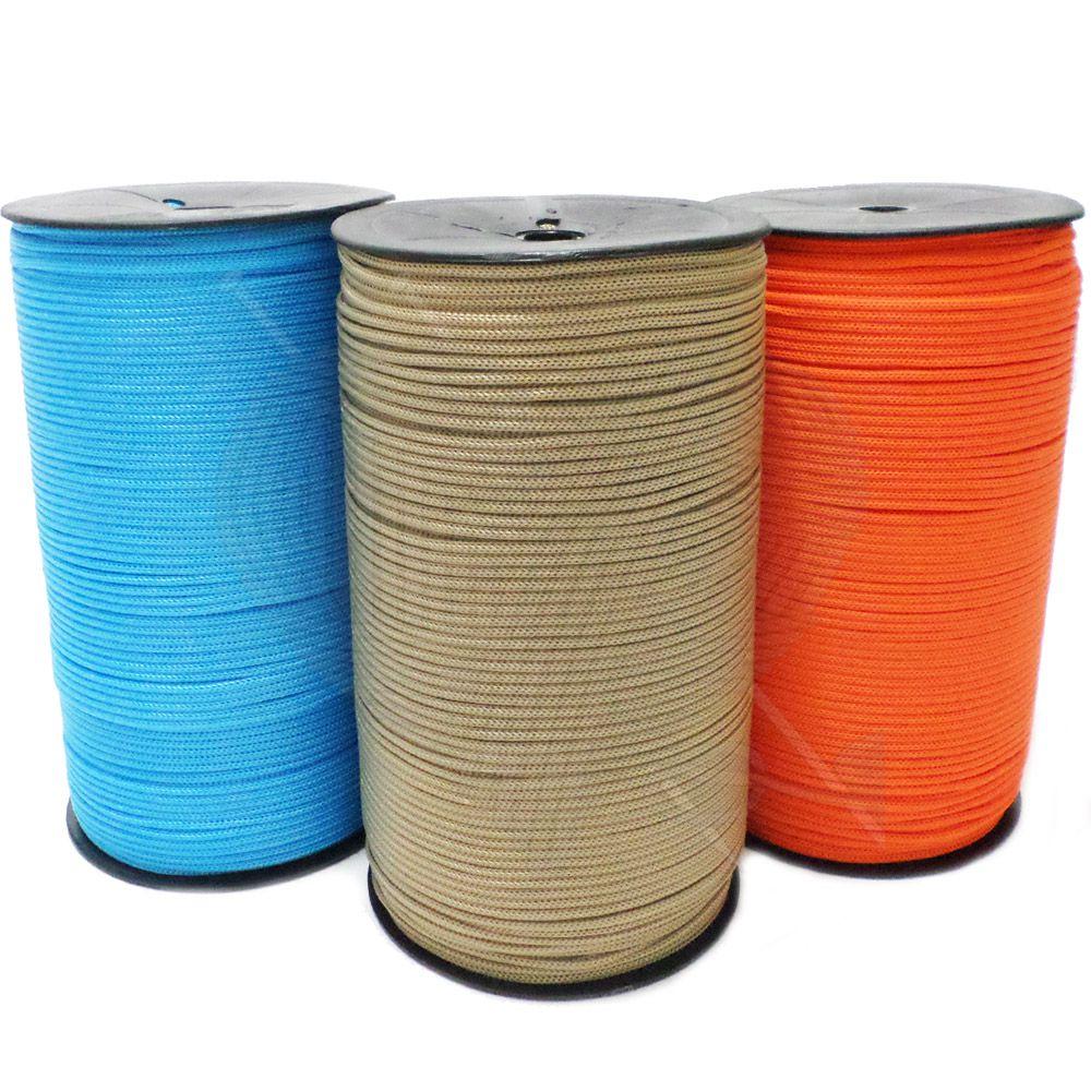 Cordão Fio Náutico Polipropileno 3mm 1kg  - Bastex Artesanatos