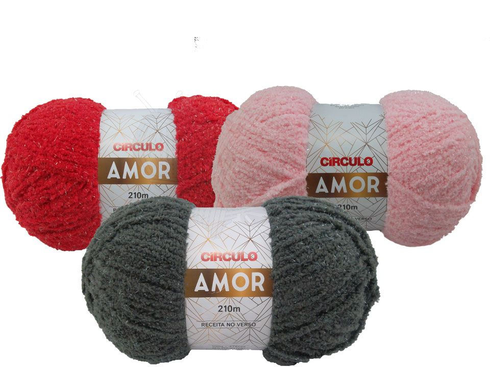 Lã Amor Circulo 100g  - Bastex Artesanatos