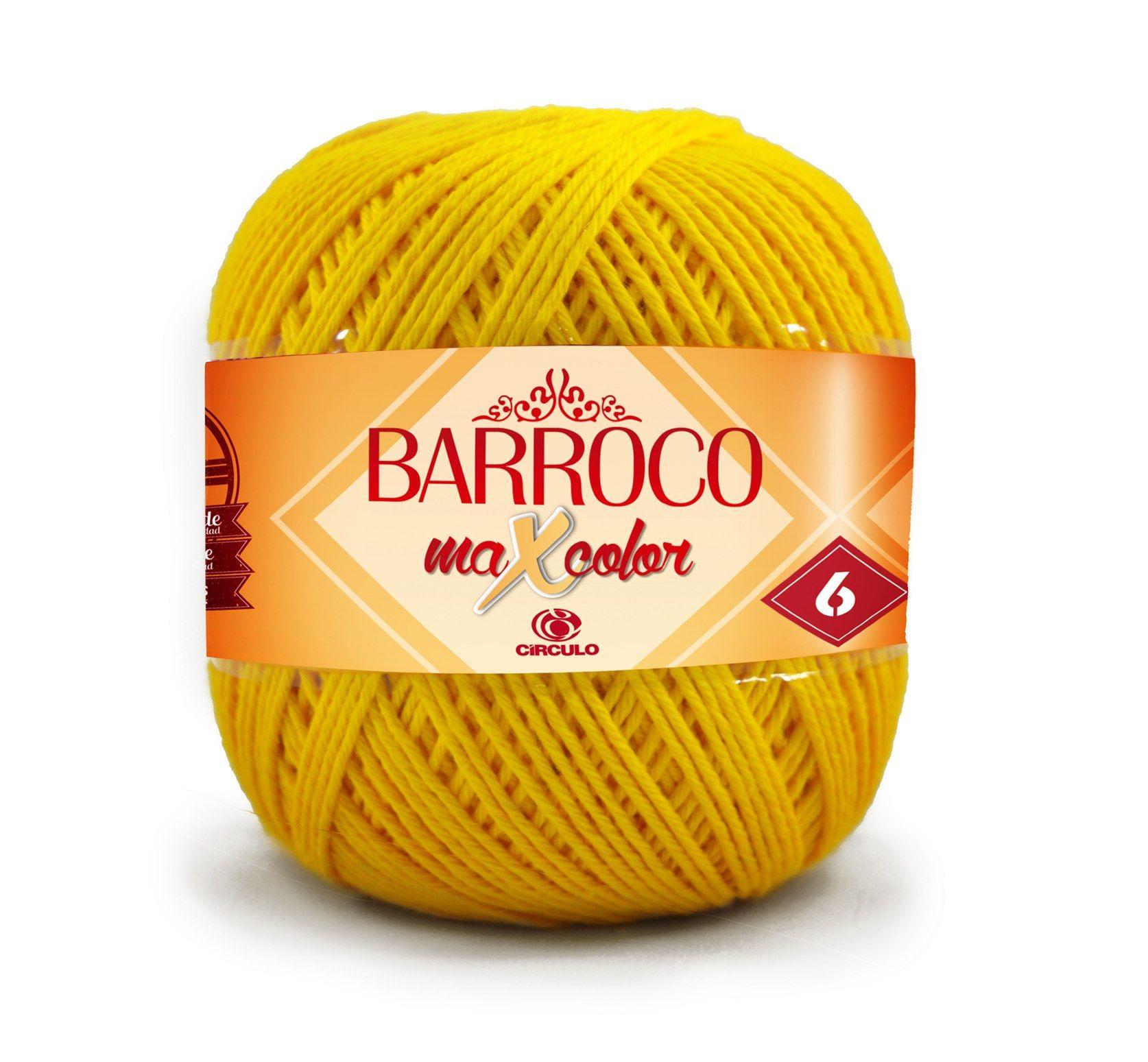 Barbante Barroco MaxColor Nº 6 - 400g  - Bastex Artesanatos