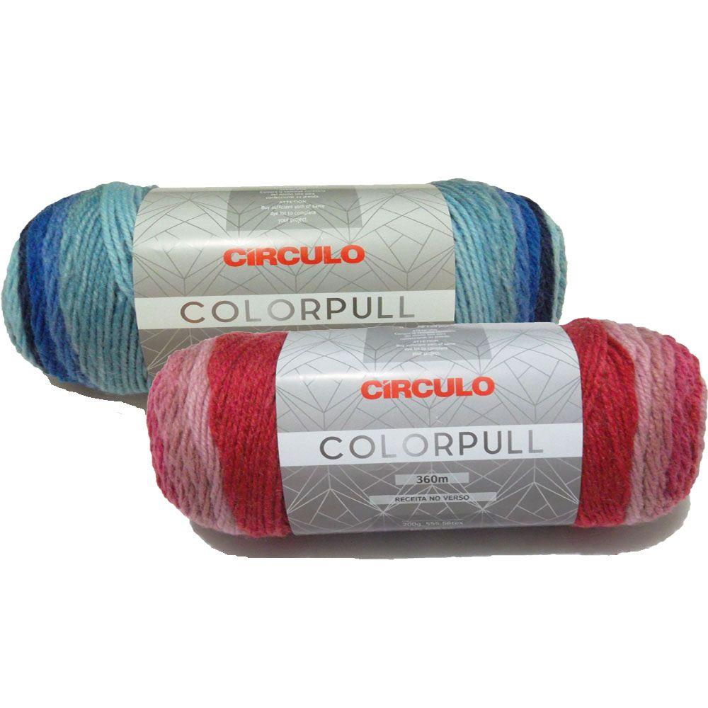 Fio ColorPull Círculo 200g  - Bastex Artesanatos