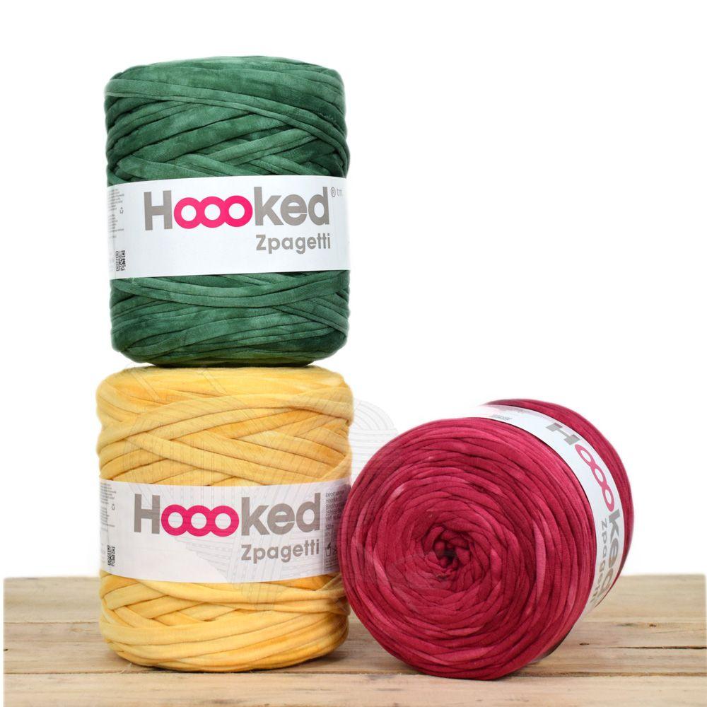 Fio de Malha Hoooked Tons de Tie Dye  - Bastex Artesanatos