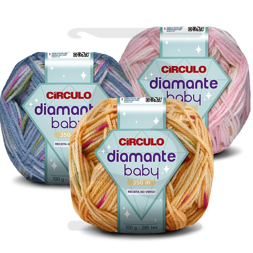 Fio Diamante Baby Circulo 100g