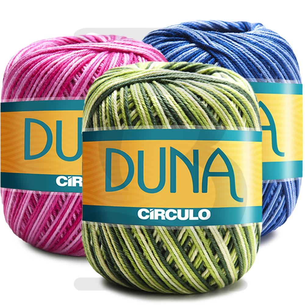 Fio Duna Círculo Multicolor 100g