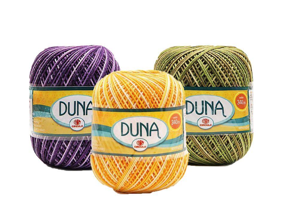Fio Duna Círculo Multicolor 200g