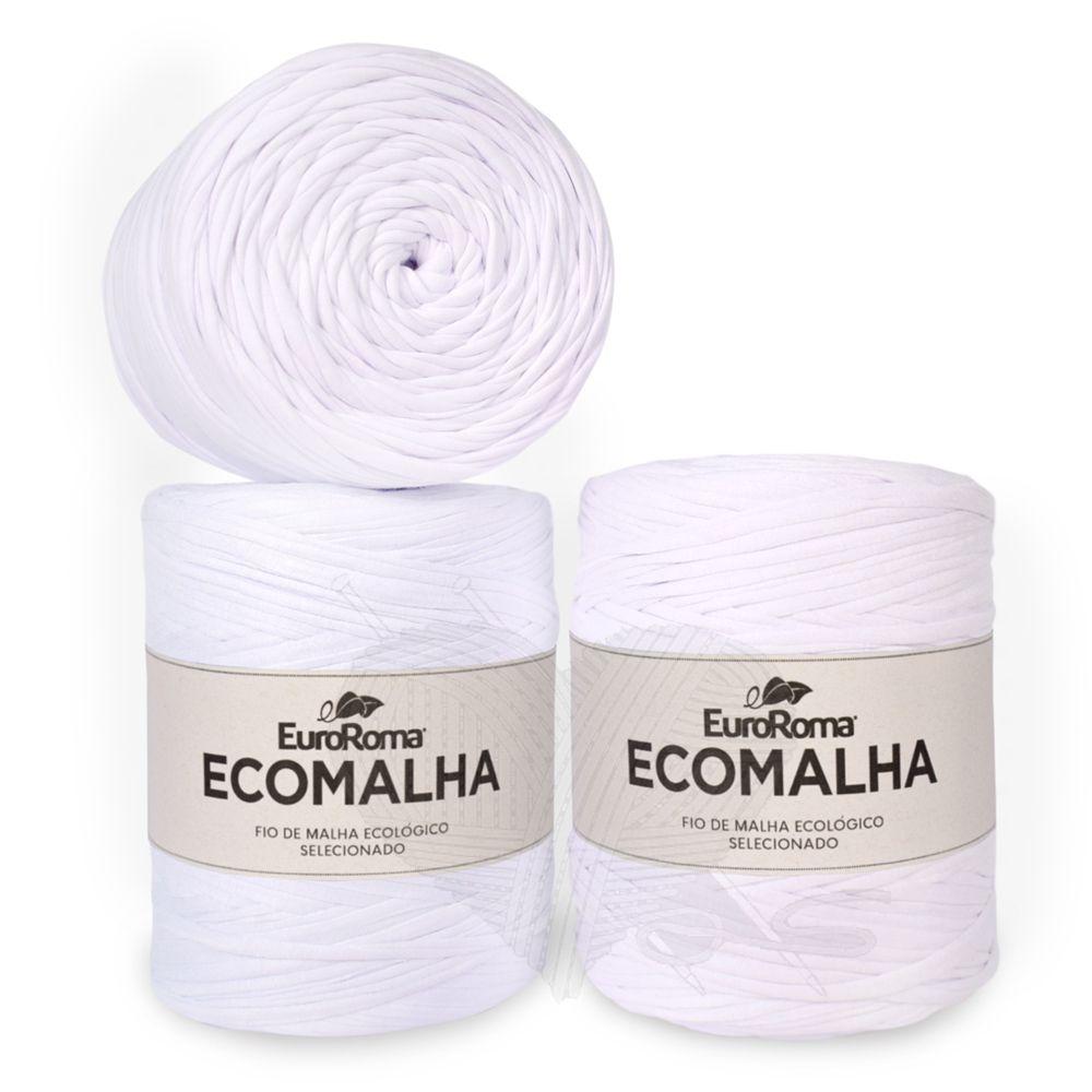 Fio EcoMalha Tons de Branco - 140m