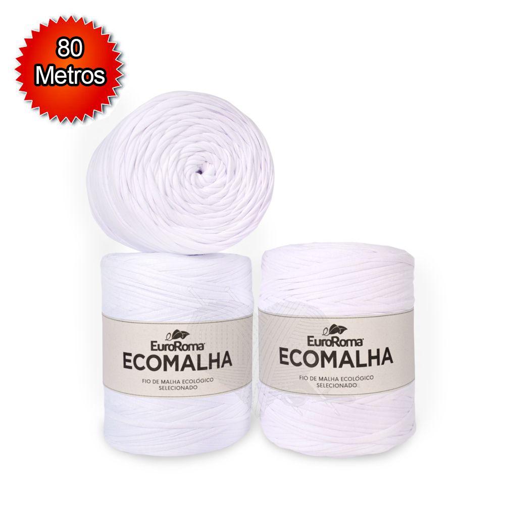 Fio EcoMalha Tons de Branco - 80m