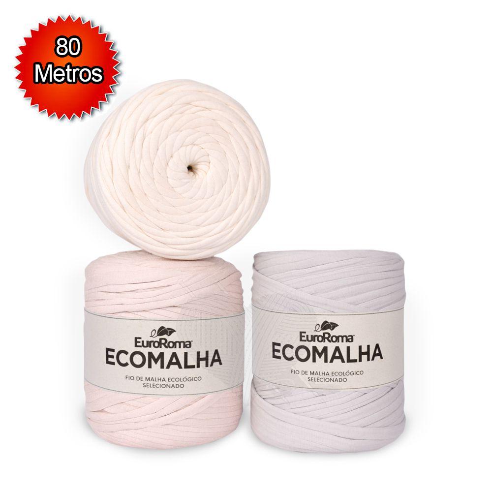 Fio EcoMalha Tons de Natural - 80m