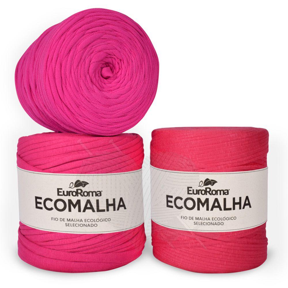 Fio EcoMalha Tons de Pink - 140m