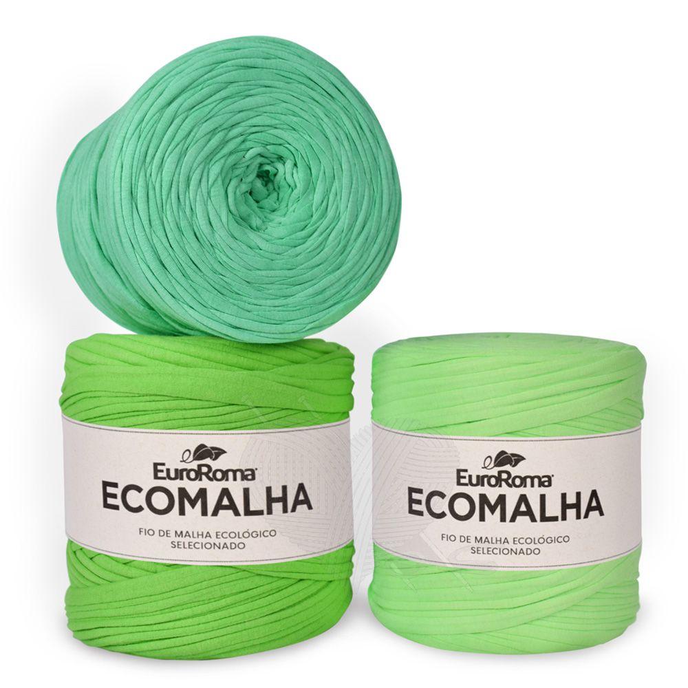 Fio EcoMalha Tons de Verde Claro - 140m