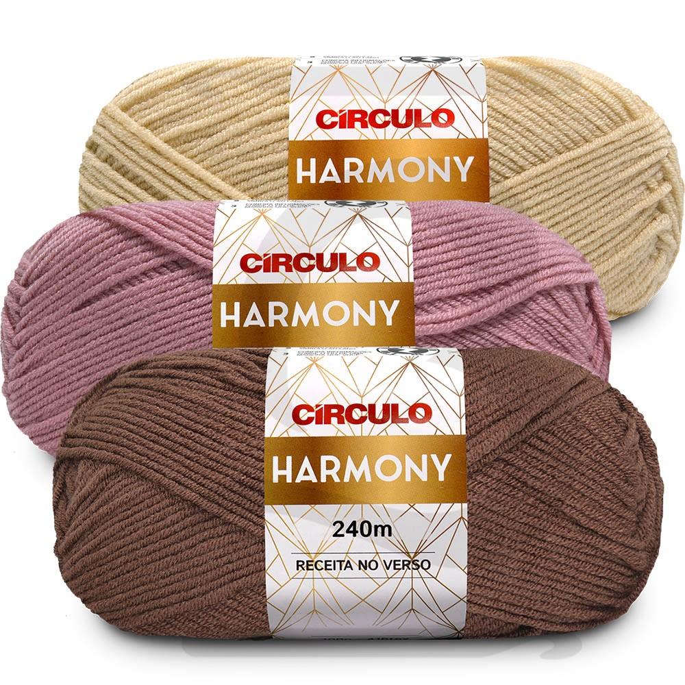 Fio Harmony Circulo 100g