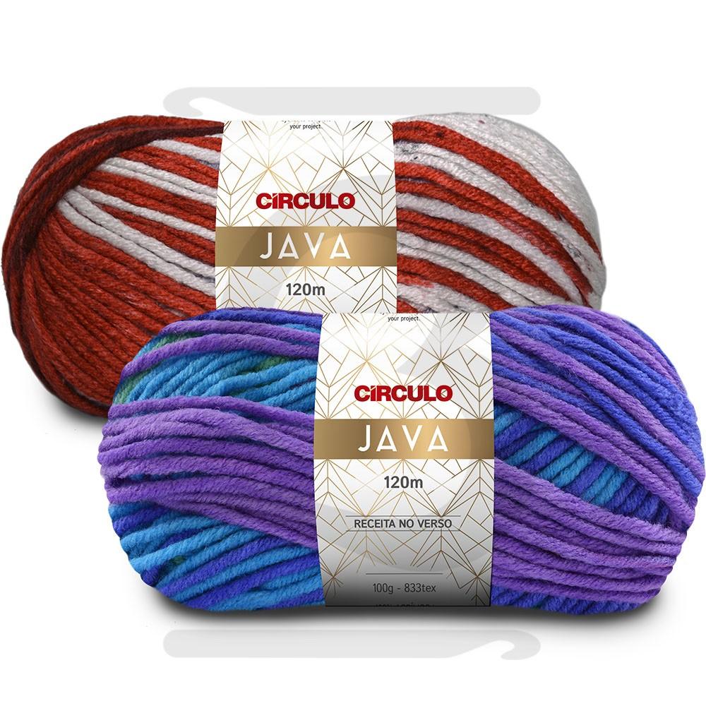 Fio Java Círculo 100g