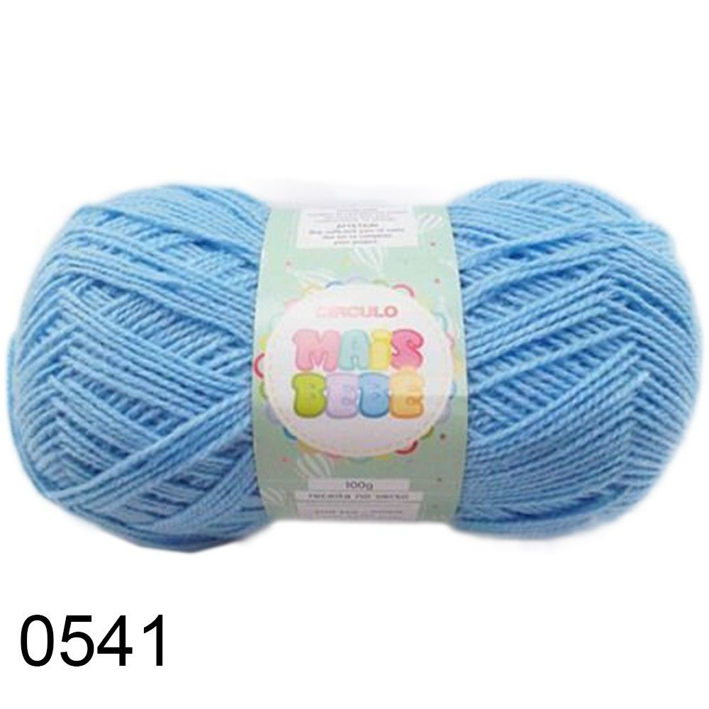 1351f494f Lã Mais Bebê Círculo 100g - Bastex Artesanatos - Loja Especializada ...