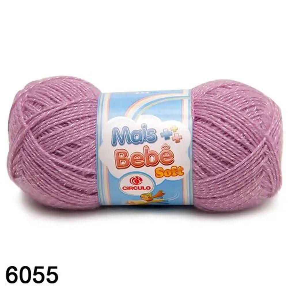 Fio Mais Bebê Soft Círculo 100g Cor 6055