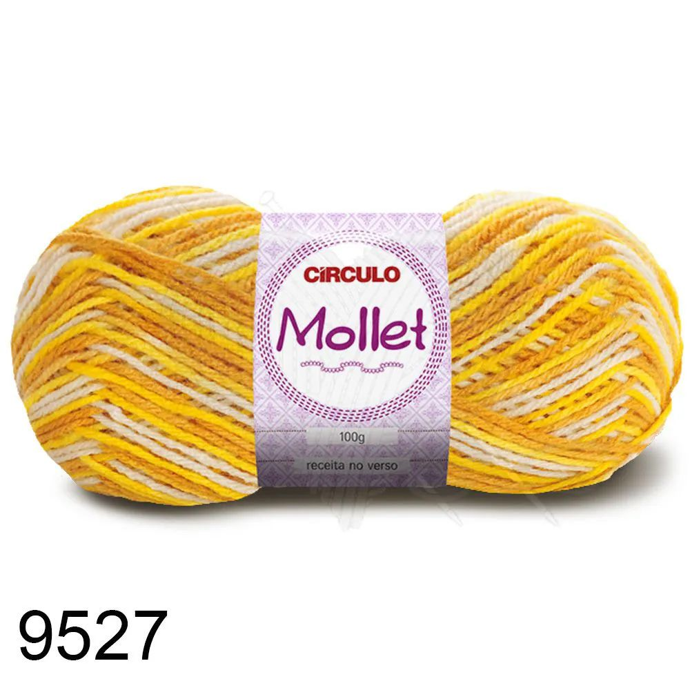 Fio Mollet Círculo Multicolor 100g Cor 9527