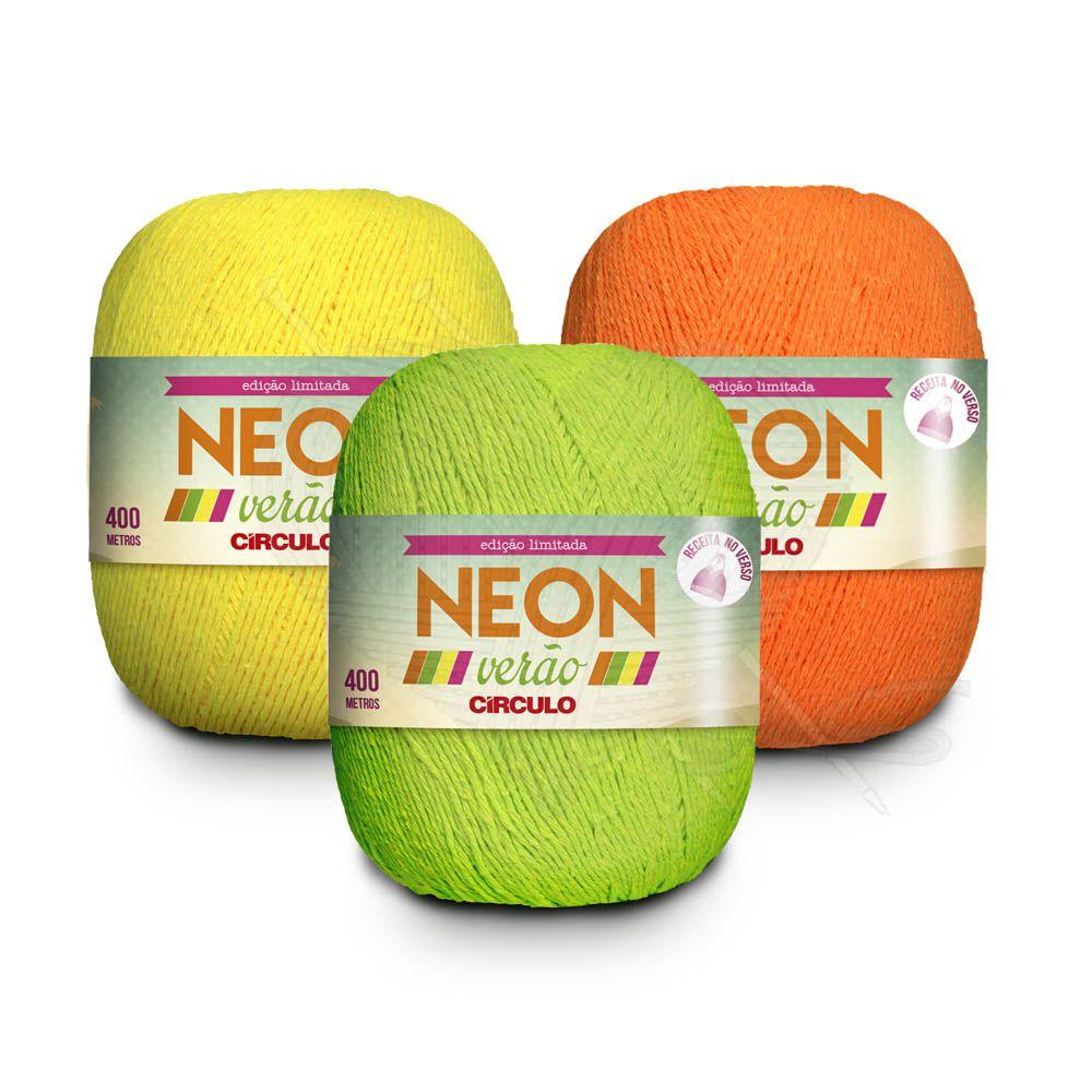 Linha Neon Verão 150g Círculo