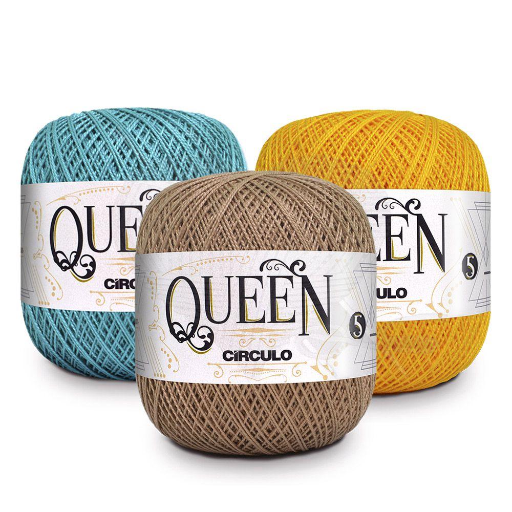 Fio Queen 5/2 Círculo 100g  - Bastex Artesanatos