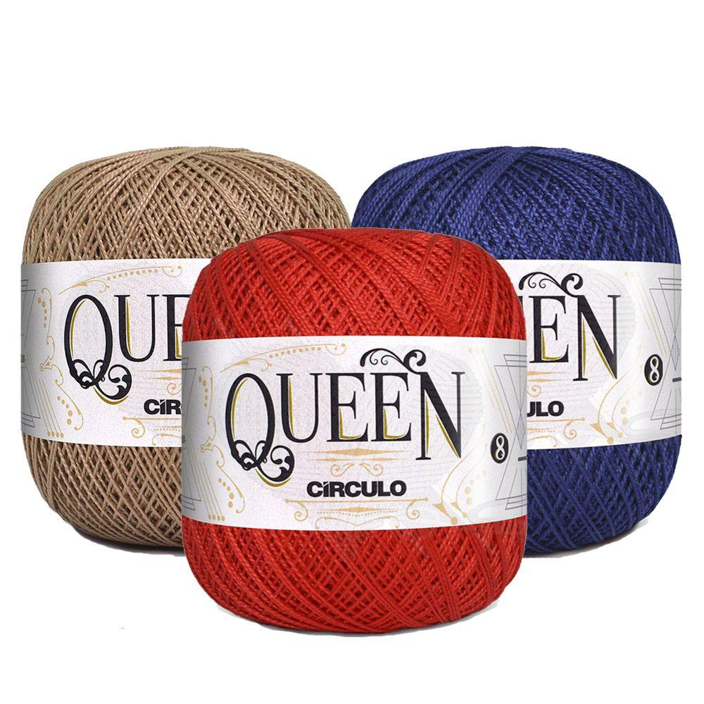 Fio Queen 8/2 Círculo 100g