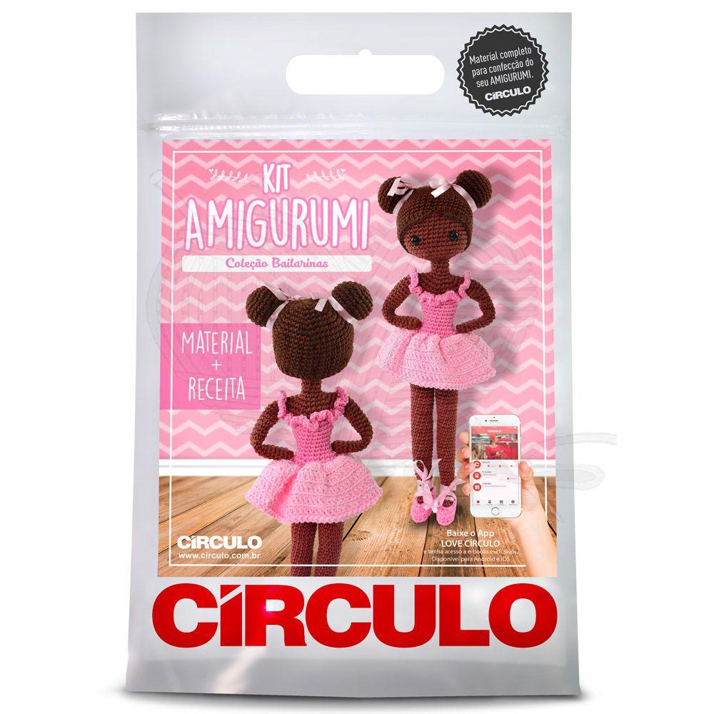 Kit Amigurumi Bailarina Késia - Círculo