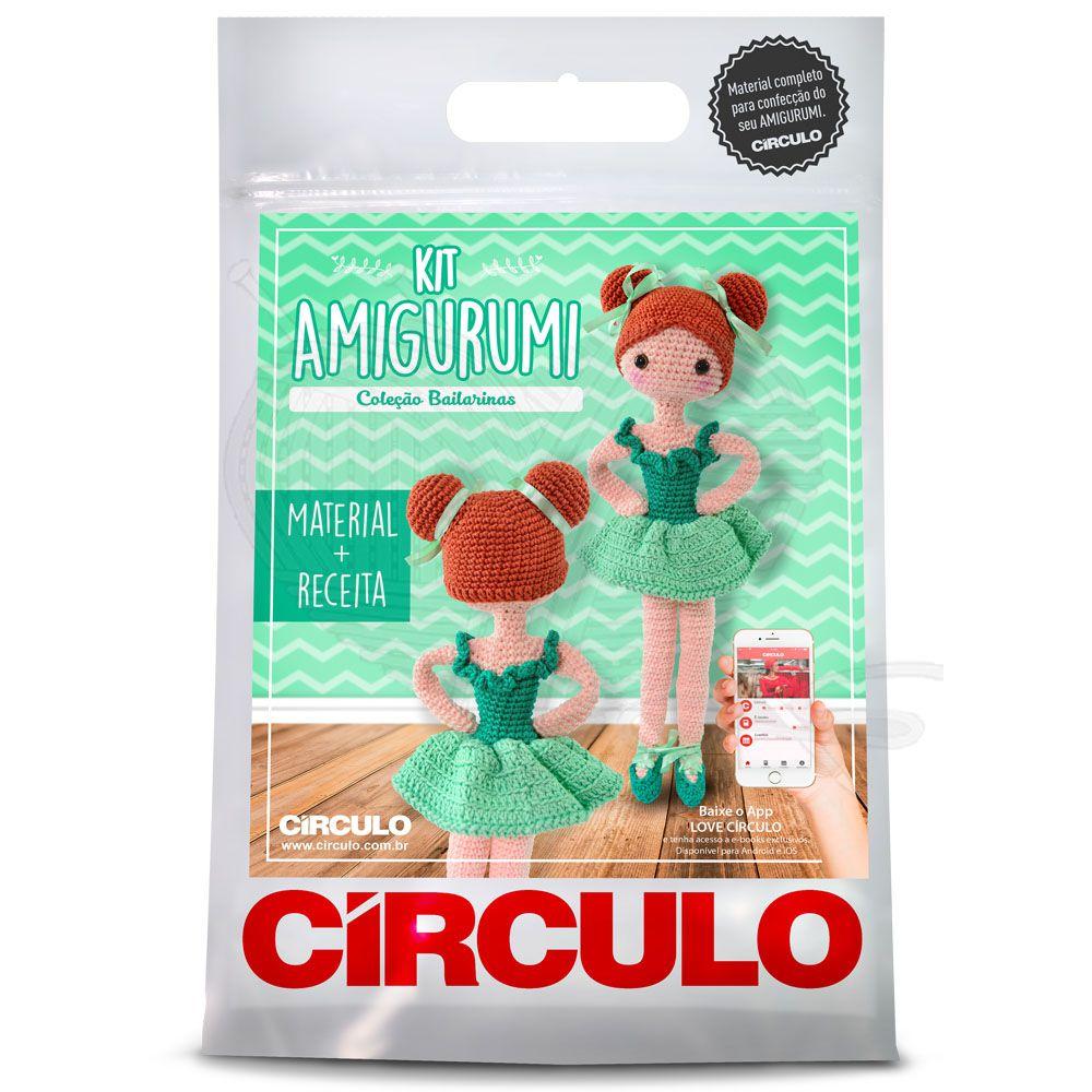 Kit Amigurumi Bailarina Maria Clara - Círculo