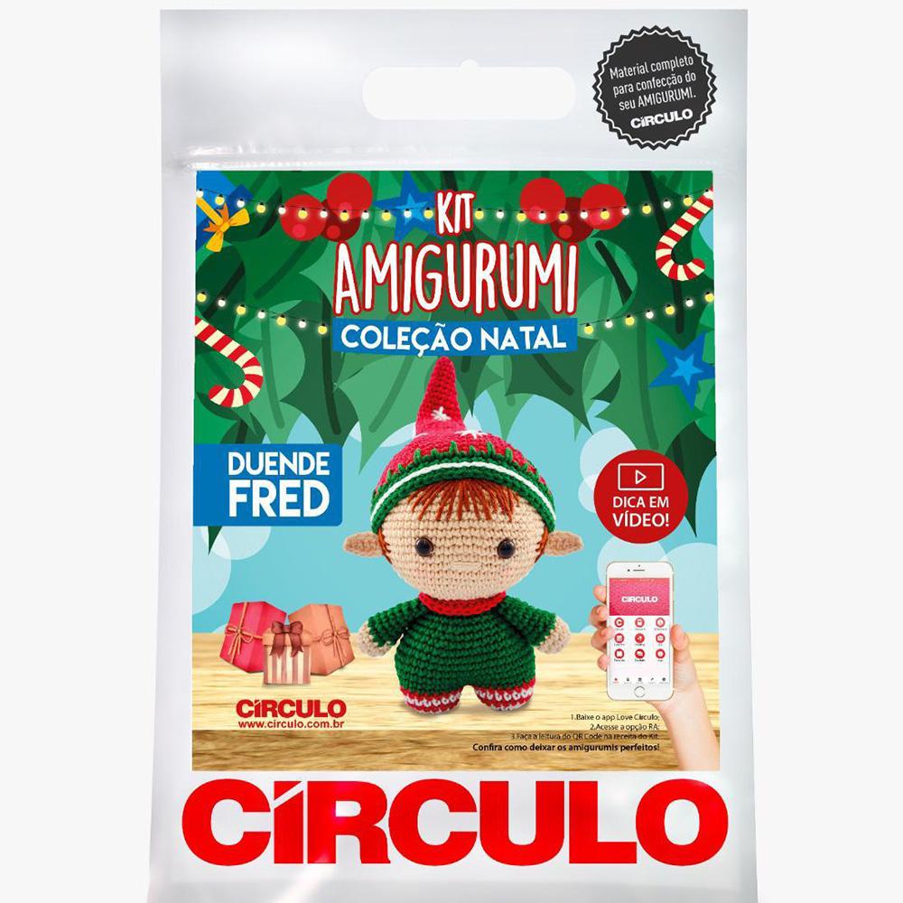 Kit Amigurumi Natal Círculo Duende Fred 2021