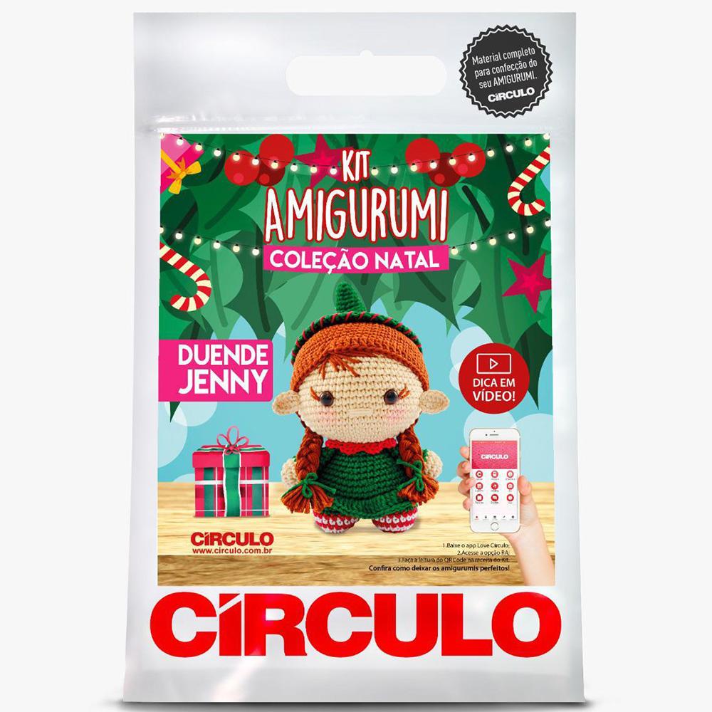 Kit Amigurumi Natal Círculo Duende Jenny 2021