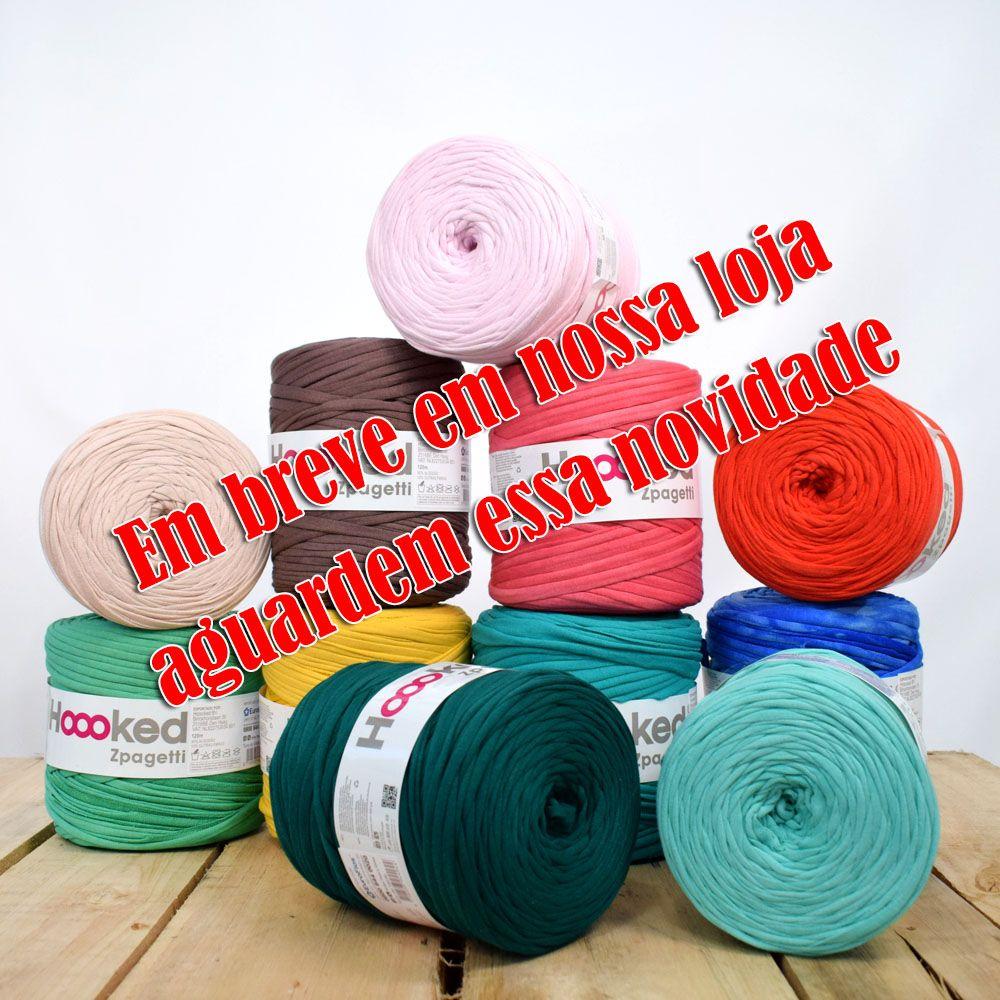 Kit Fio de Malha Hoooked  Zpagetti  - Bastex Artesanatos