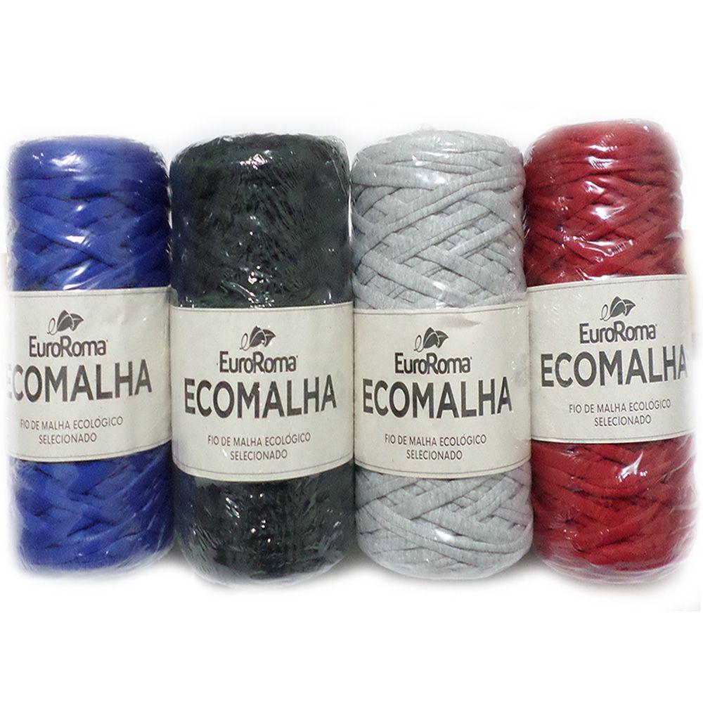 Kit Fio EcoMalha 80m - 4 Novelos