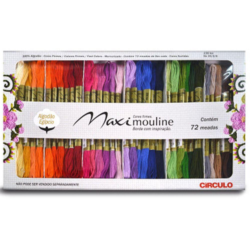 Kit Maxi Mouline Circulo Com 72 Meadas
