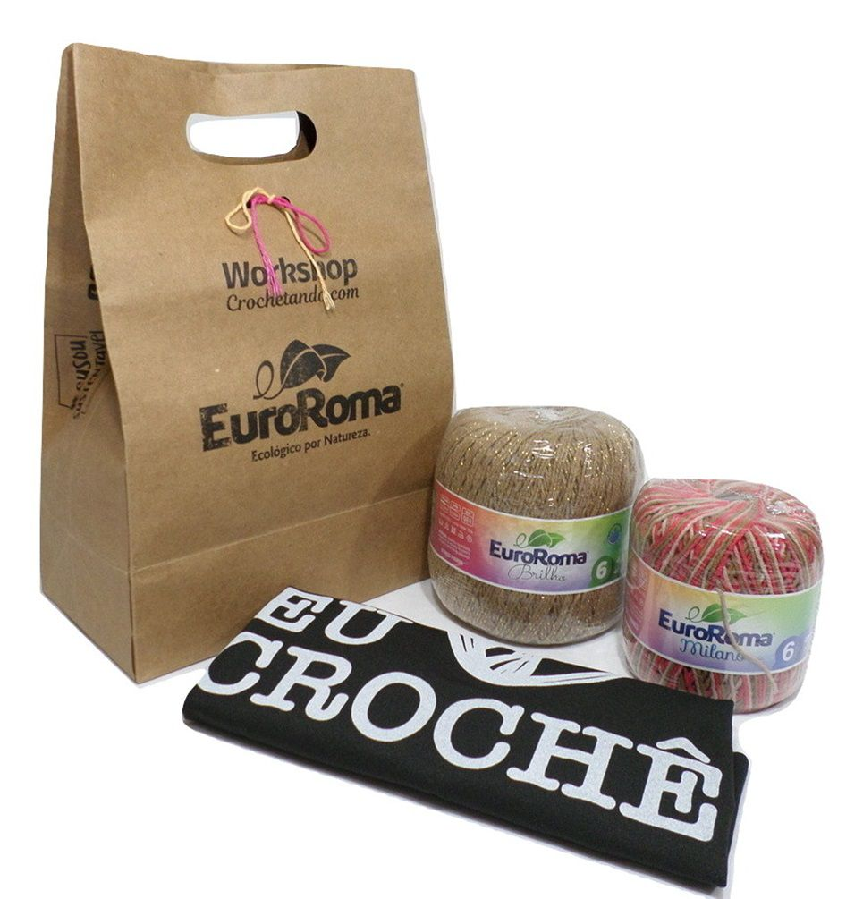 Kit Presente EuroRoma Marcelo Nunes  - Bastex Artesanatos