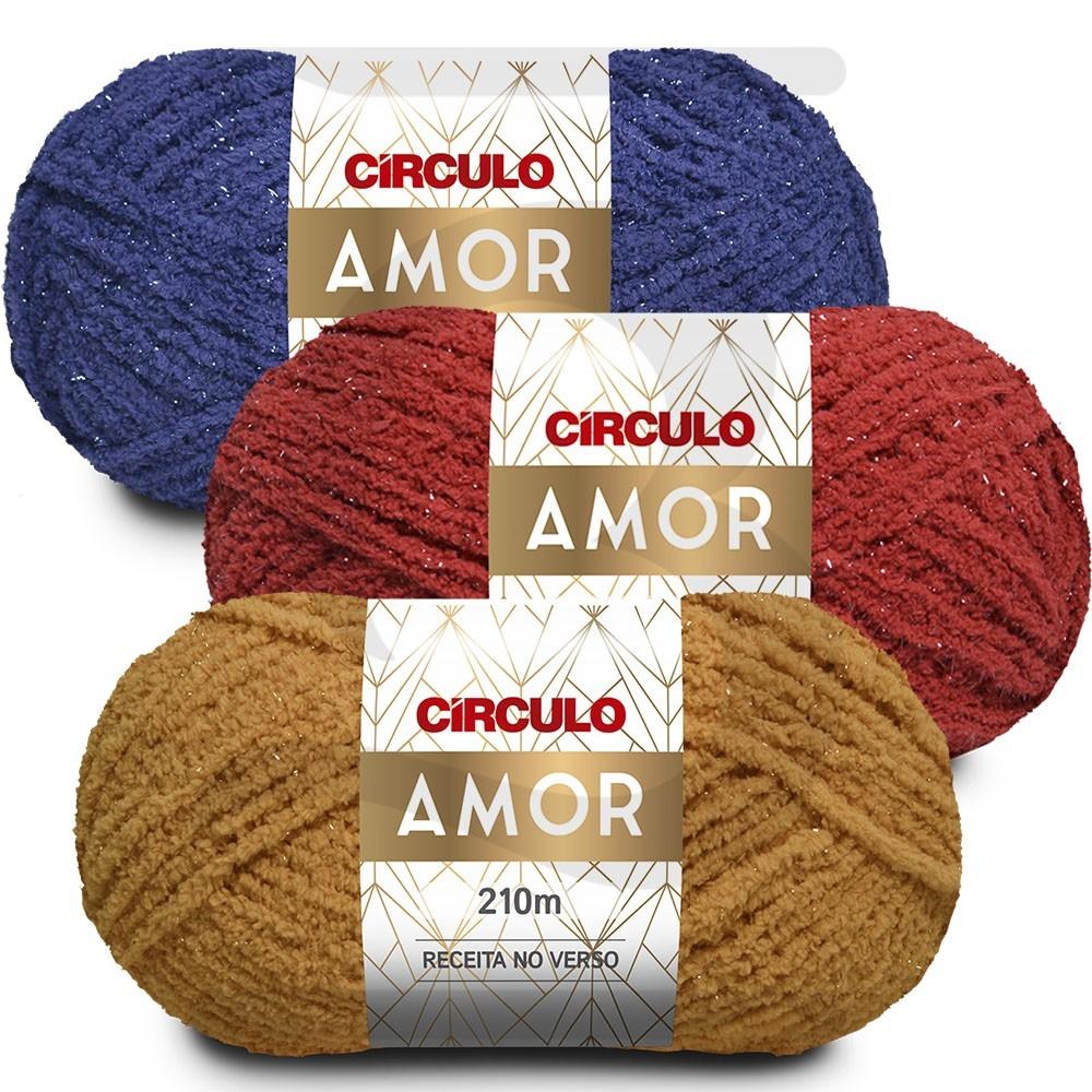 Lã Amor Circulo 100g