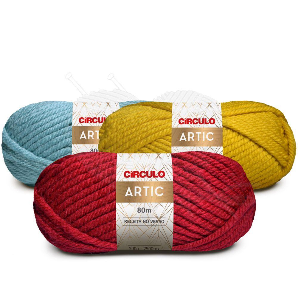 Lã Artic Círculo 200g  - Bastex Artesanatos
