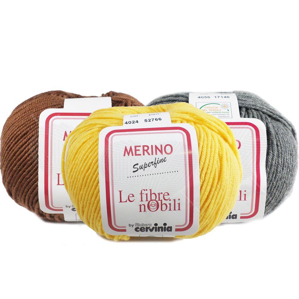 Lã Merino Cervinia 50g  - Bastex Artesanatos
