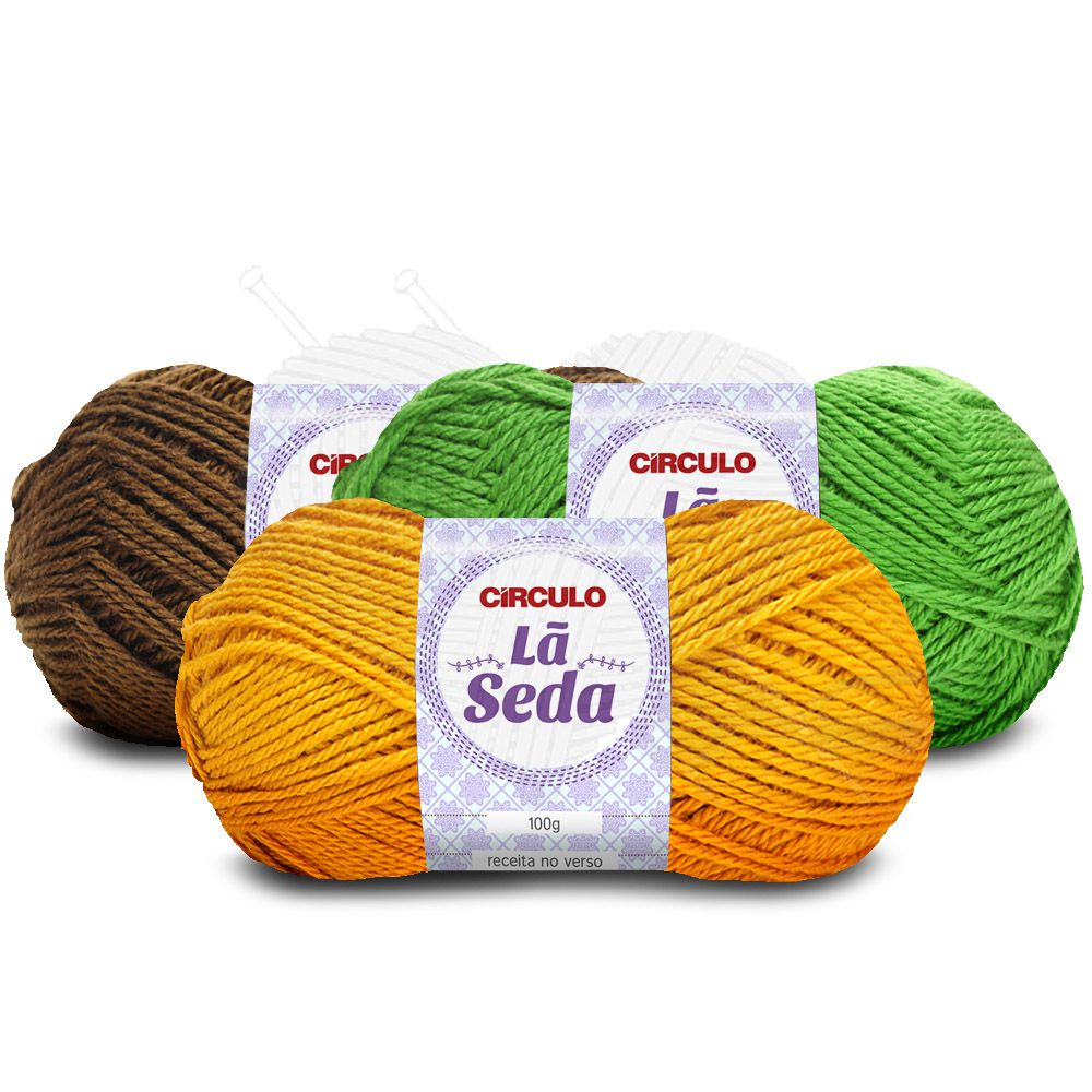 Lã Seda Círculo 100g
