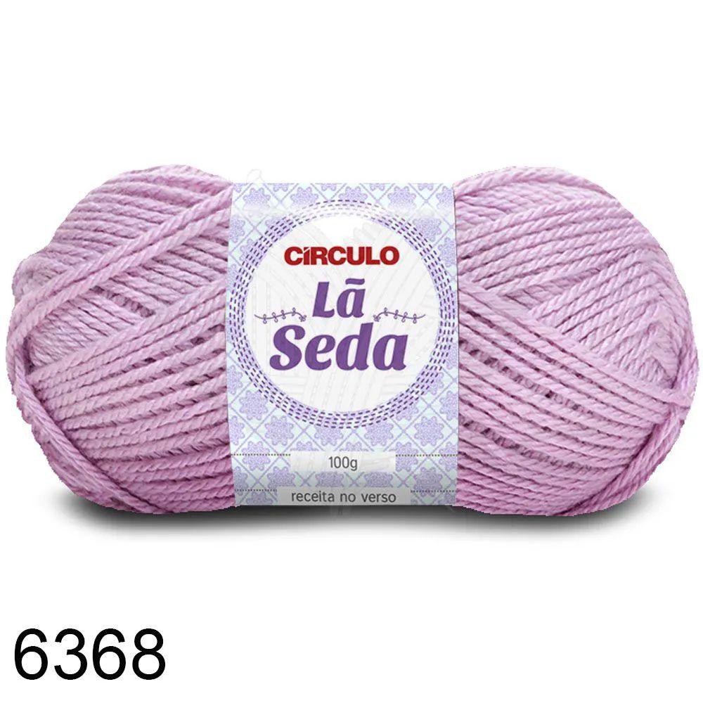 Lã Seda Círculo 100g Cor 6368