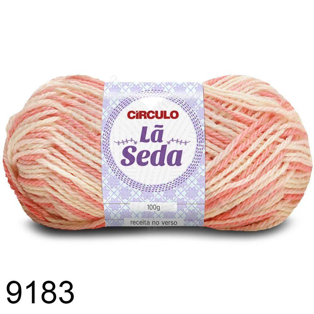 Lã Seda Círculo 100g Cor 9183