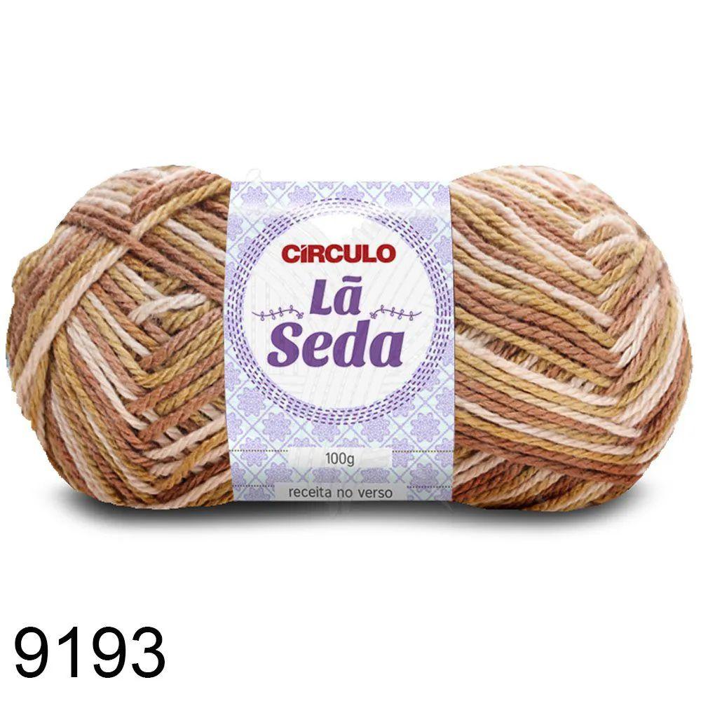 Lã Seda Círculo 100g Cor 9193