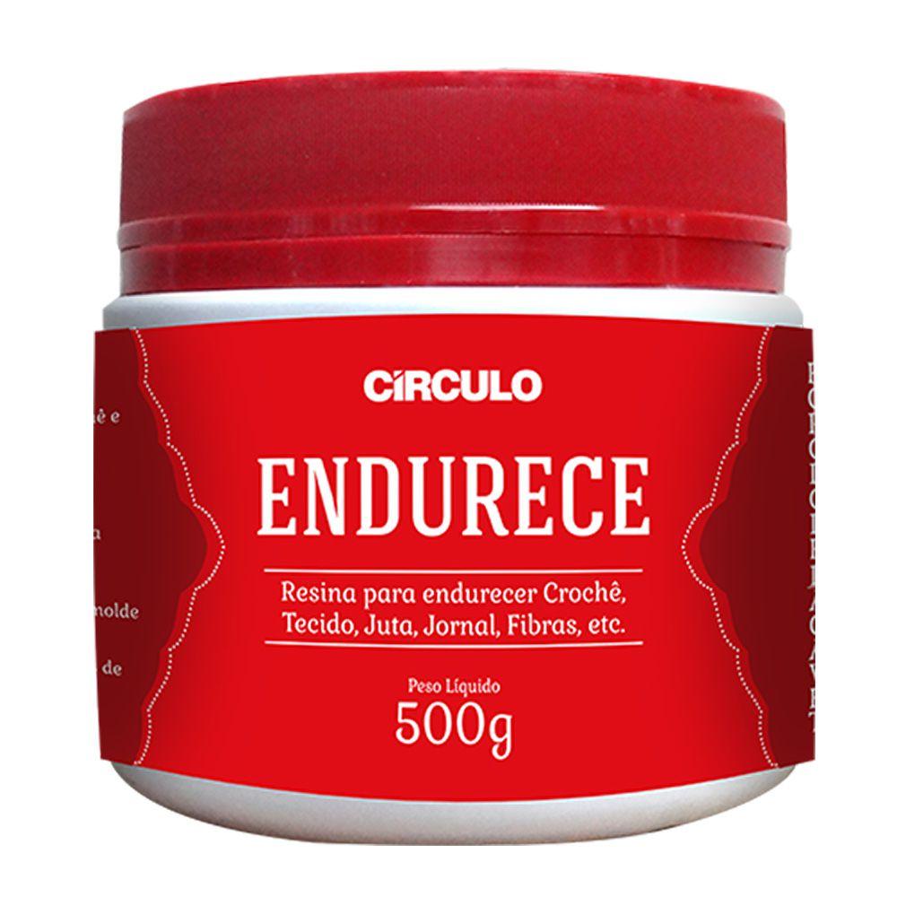 Resina Endurece Circulo 500g  - Bastex Artesanatos