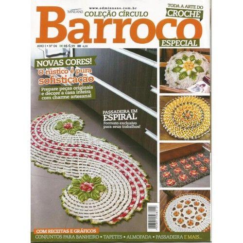 Revista Barroco Especial N°04  - Bastex Artesanatos