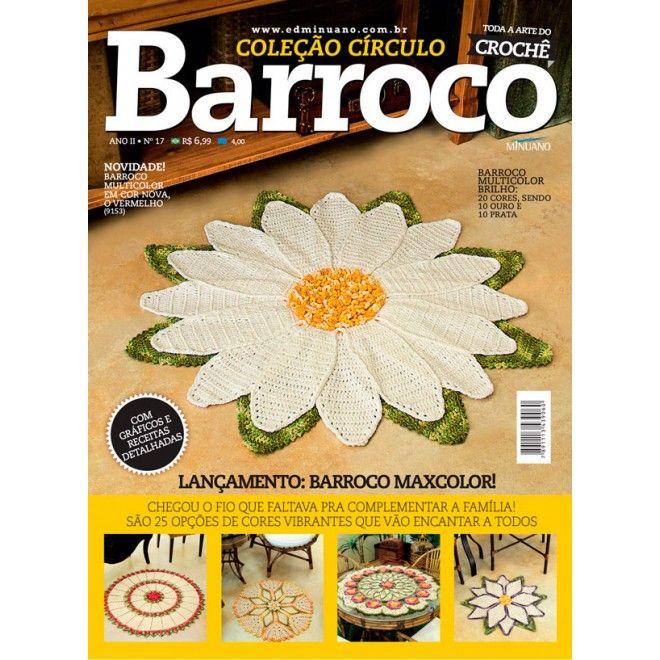 Revista Círculo Barroco N°17  - Bastex Artesanatos