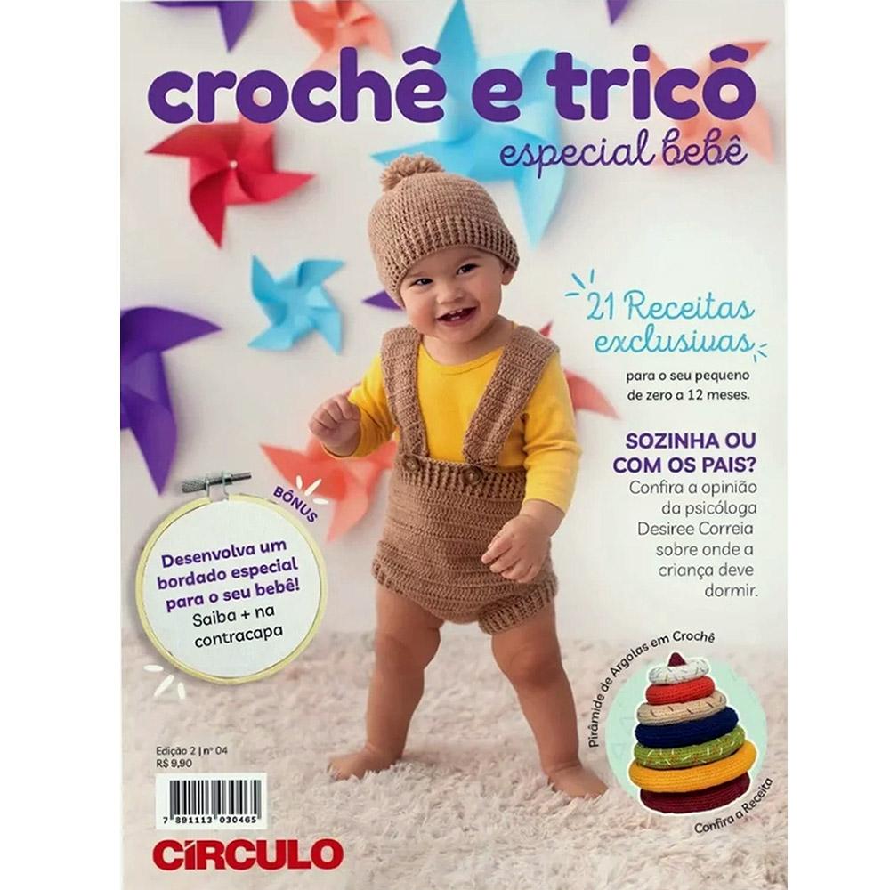 Revista Círculo Crochê e Tricô Especial Bebê N° 04